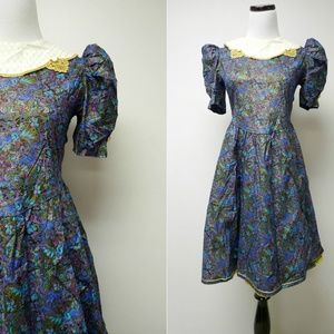VTG Rare Editions Lolita style dress . made in USA